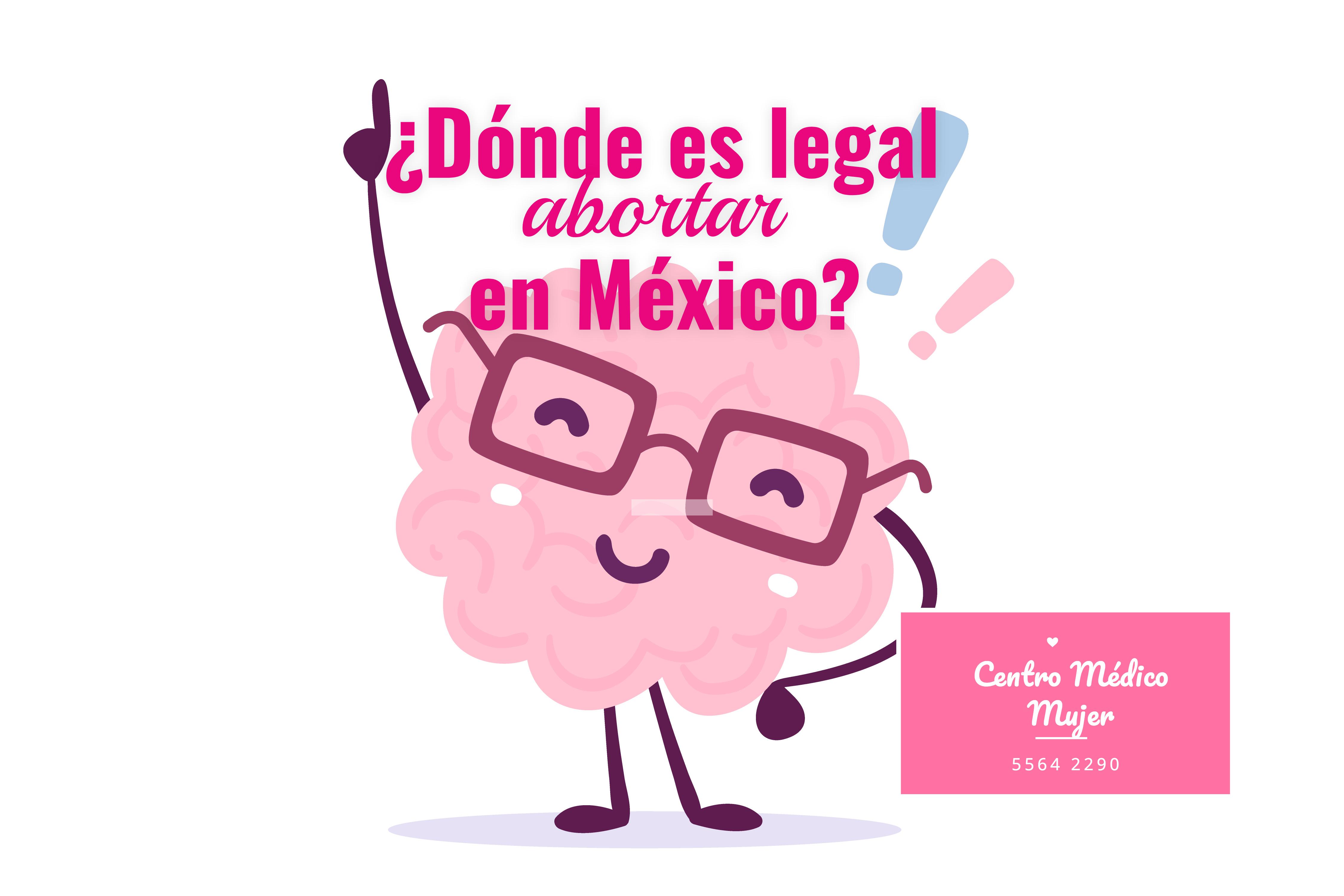¿Dónde es legal abortar en México?