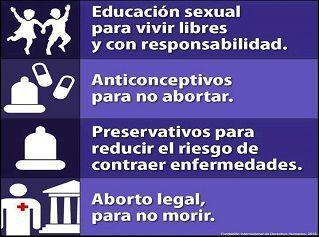 Aborto legal y Educación Sexual