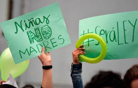 Las mujeres ecuatorianas piden despenalizar el aborto por violación