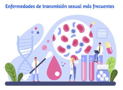 Enfermedades de transmisión sexual más frecuentes