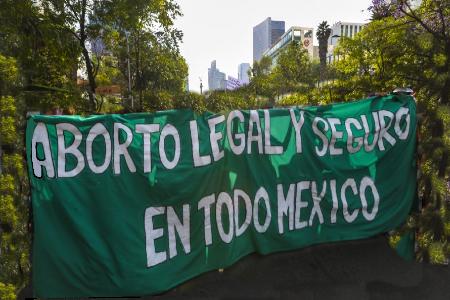 Marchas y acciones a favor del Aborto legal en México
