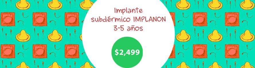 Implante Subdérmico IMPLANON $2,499