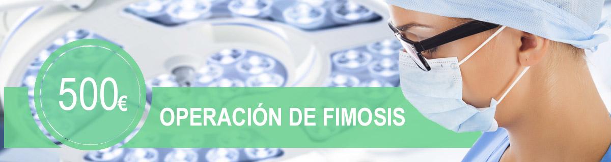 Operación de fimosis en la Clínica E.M.E.C.E en Barcelona