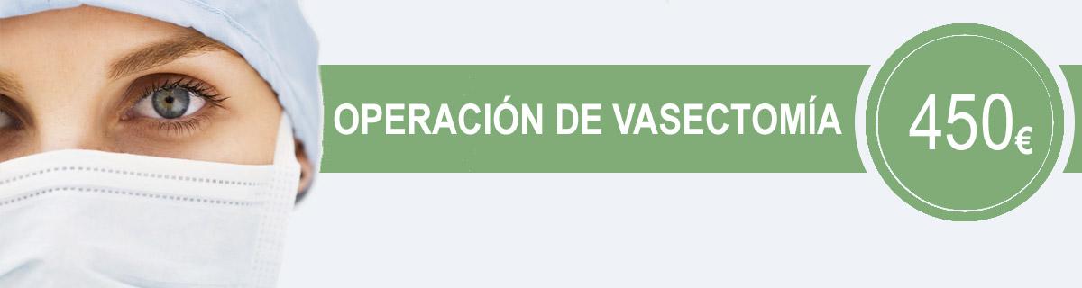 Promocioón de operación de vasectomía. Clínica E.M.E.C.E en Barcelona